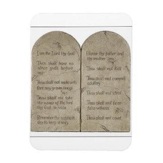 The Ten Commandments [English] Magnet
