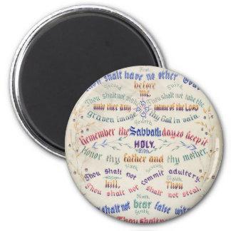 The Ten Commandments magnets