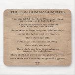 The Ten Commandments Mouse Pad
