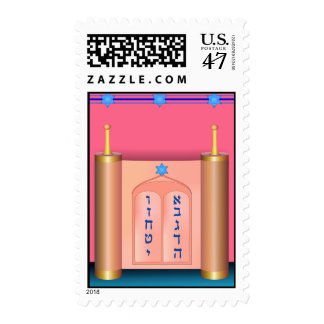 The Ten Commandments Postage Stamp