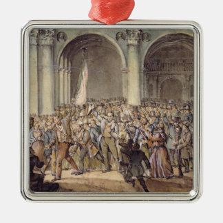 The Ten days of Brescia, after 1849 Metal Ornament