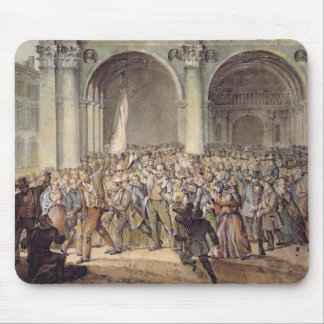 The Ten days of Brescia, after 1849 Mouse Pad
