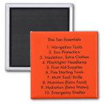 The Ten Essentials Magnet