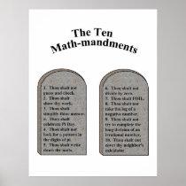 The Ten Math-Mandments