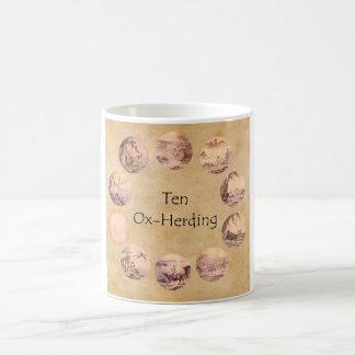 The Ten Oxherding Pictures Classic White Coffee Mug