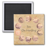 The Ten Oxherding Pictures Refrigerator Magnets