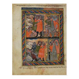 The Ten Plagues of Egypt TtoB Postcard