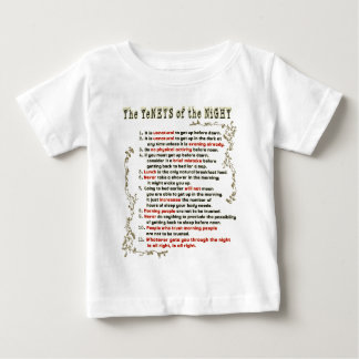 The Tenets of the Night Baby T-Shirt