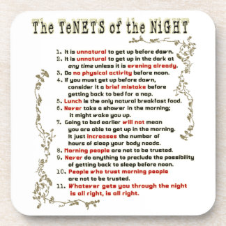 The Tenets of the Night Coaster
