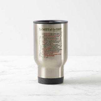 The Tenets of the Night Travel Mug