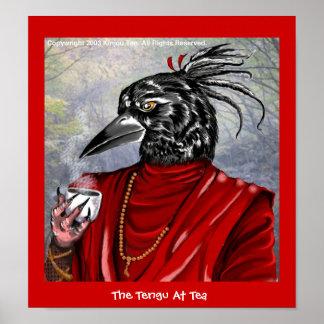 The Tengu At Tea Poster