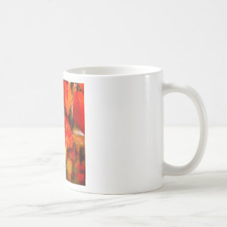 The tennis ball is adorned for Fall. Coffee Mug