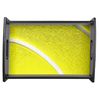 The Tennis Ball Sport Design Serving Tray