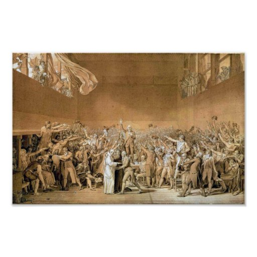 The Tennis Court Oath  1791 Posters
