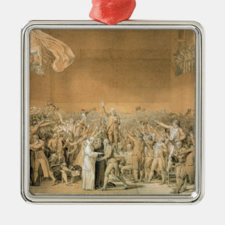The Tennis Court Oath, 20th June 1789, 1791 2 Metal Ornament