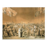 The Tennis Court Oath, 20th June 1789, 1791 2 Postcard