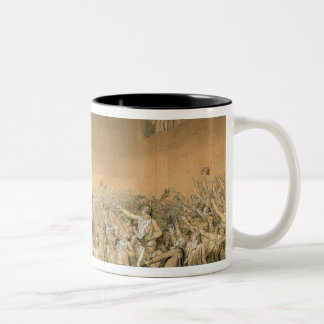 The Tennis Court Oath, 20th June 1789, 1791 2 Two-Tone Coffee Mug