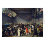 The Tennis Court Oath, 20th June 1789, 1791 Greeting Cards