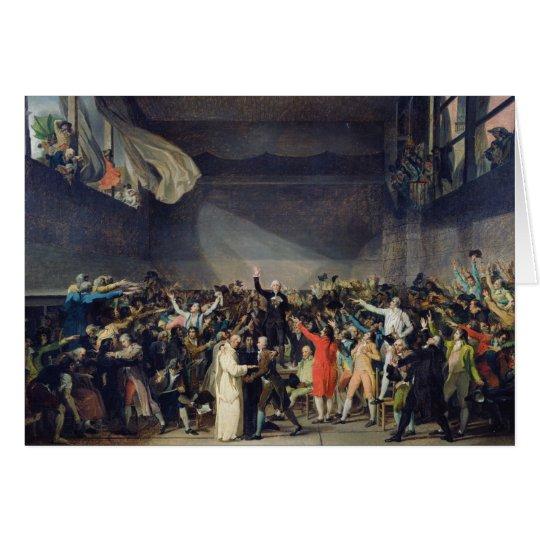 The Tennis Court Oath, 20th June 1789, 1791 Card