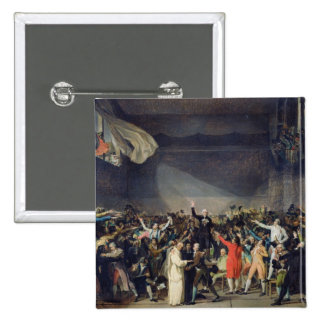 The Tennis Court Oath, 20th June 1789, 1791 Pinback Button