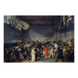 The Tennis Court Oath, 20th June 1789, 1791 Poster