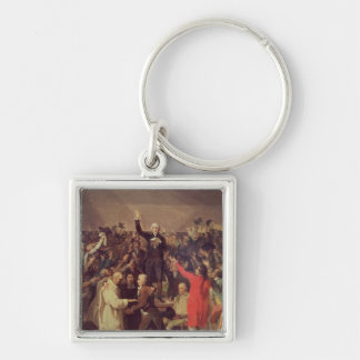 The Tennis Court Oath Keychain
