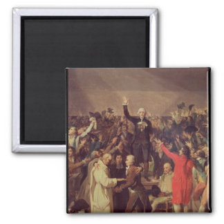 The Tennis Court Oath Magnet