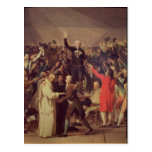 The Tennis Court Oath Post Card