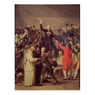 The Tennis Court Oath Postcard