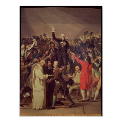 The Tennis Court Oath Poster