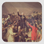 The Tennis Court Oath Stickers