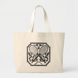 THE TENNIS CREST CANVAS BAGS