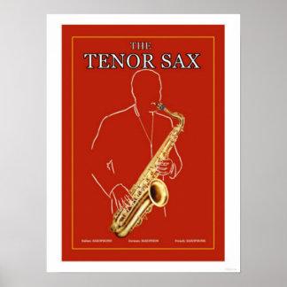 The Tenor Sax Poster