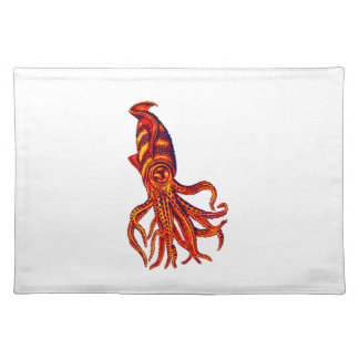 THE TENTACLE PROPULSION CLOTH PLACEMAT