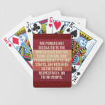 The Tenth Amendment Deck Of Cards