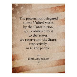 The Tenth Amendment Postcard