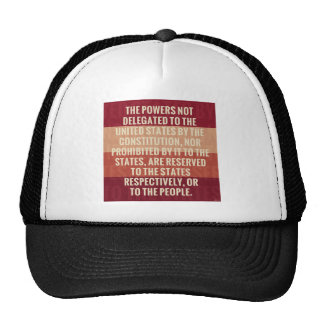 The Tenth Amendment Trucker Hat