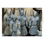 The Terra-cotta Warriors, Xi'an, China Greeting Cards
