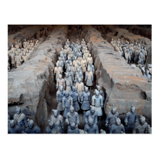 The Terra-cotta Warriors, Xi'an, China Post Cards