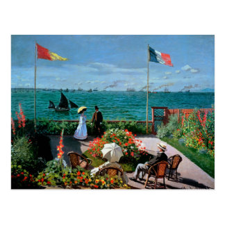 The Terrace at Sainte-Adresse, 1867 Post Card