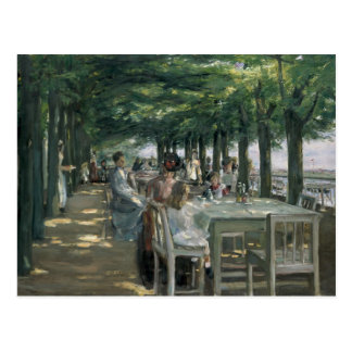 The Terrace at the Restaurant Postcard