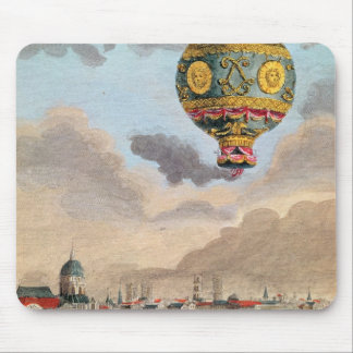 The Terrace of Monsieur Franklin at Passy Mouse Pad