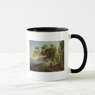 The Terrace of the Capucins in Sorrento, 1828 Mug
