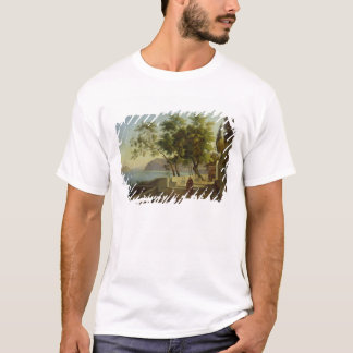 The Terrace of the Capucins in Sorrento, 1828 T-Shirt