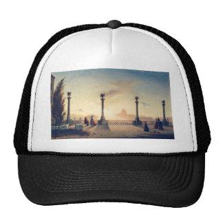 The Terrace on Monte Pincio by Gheorghe Tattarescu Trucker Hat