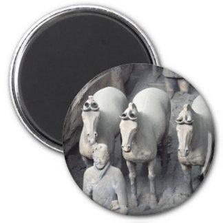 The Terracotta Army Warriors Fridge Magnet
