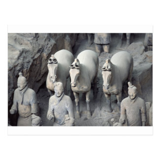 The Terracotta Army Warriors Postcard