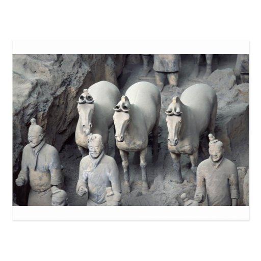 The Terracotta Army Warriors Postcard