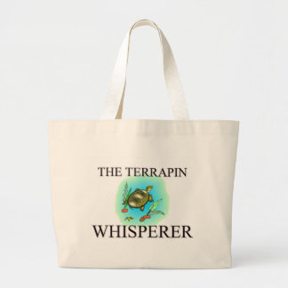 The Terrapin Whisperer Canvas Bags