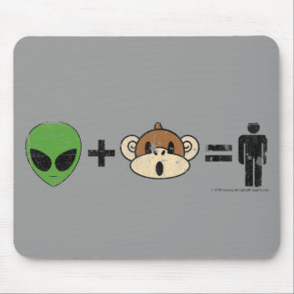 The Terrestrial Freewill Project Mouse Pad